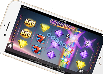 Mobile slots at Mr Green