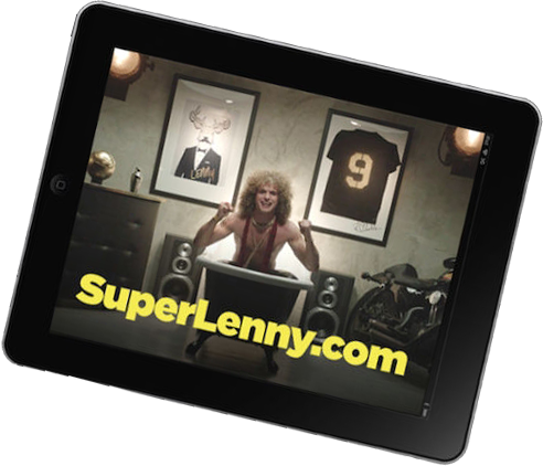 SuperLenny iPad/iPhone