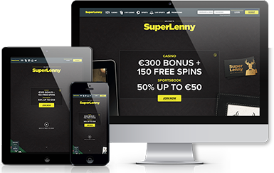 Screenshots of SuperLenny homepage