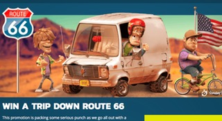 Win a roadtrip along Route 66!